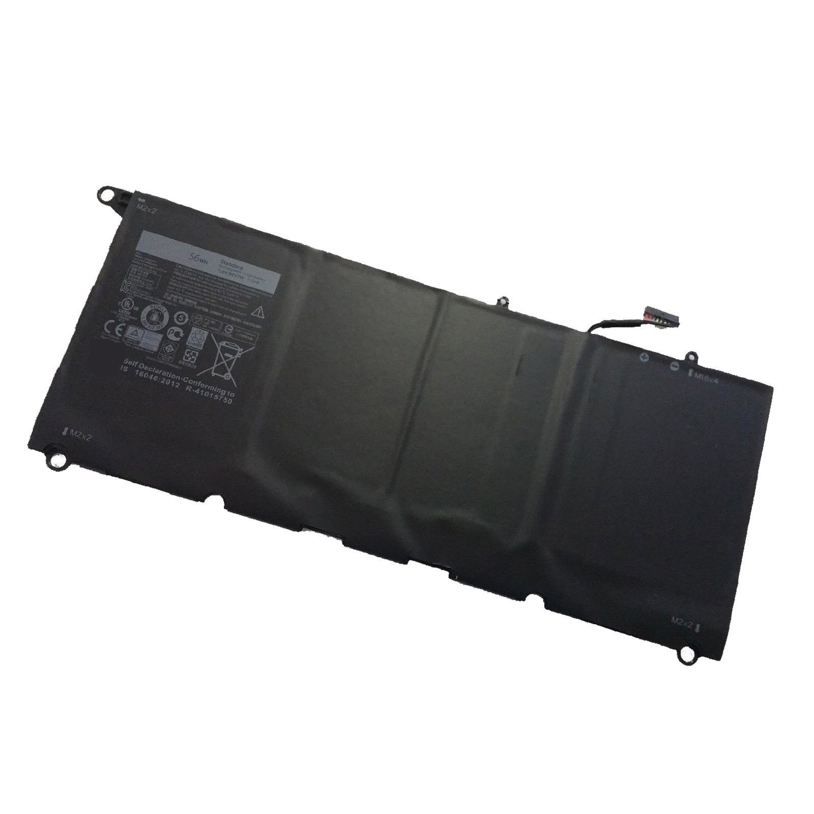 JD25G 90V7W Dell XPS13D-9343-1708 Dell XPS 13 9343 7.6V 56Wh compatible battery