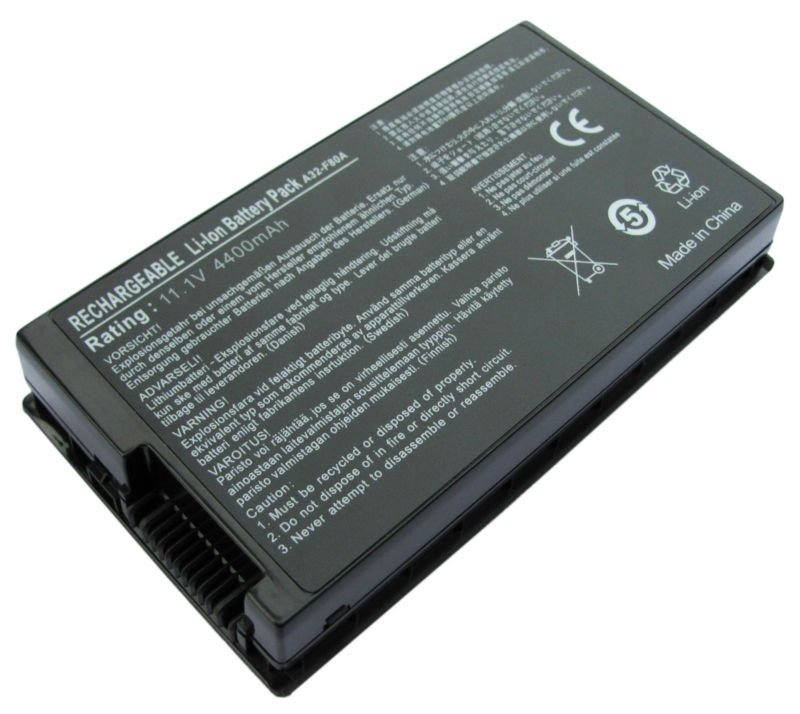 A32-F80A ASUS X61 X61W X85C X85L X85S X85SE replacement battery