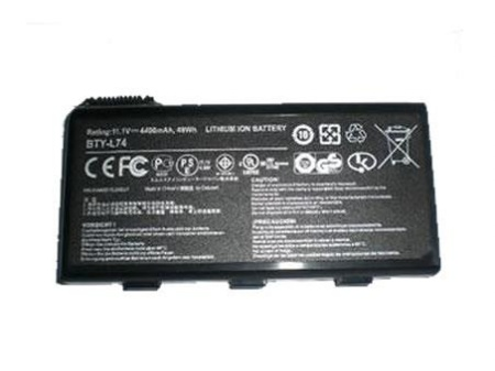 MSI CR700 CR720/MS-1736 CX700 CX705/MS-1737 GE700/MS-1733 BTY-L74 BTY-L75 replacement battery