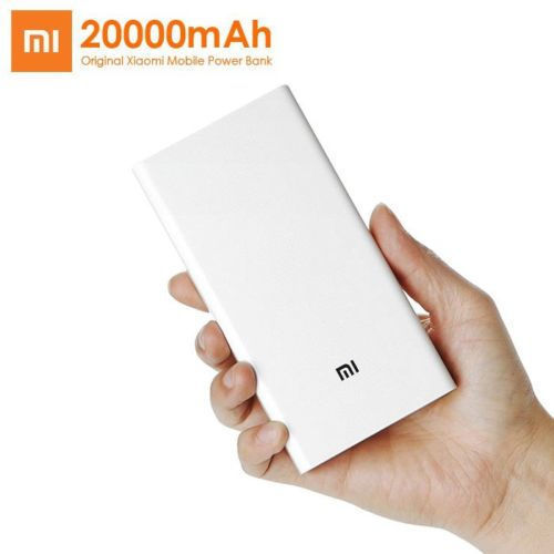 Xiaomi Power Bank 20000mAh Battery Genuine USB External Phone Tablet Charger